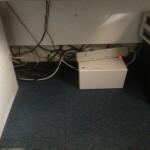 BUFFALO ケーブルボックス 電源タップ&ケーブル収容