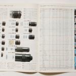 ASAHI PENTAX 旭光学 レンズとアクセサリー カタログ S52