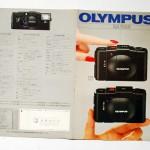 OLYMPUS オリンパス XA・XA2カタログ S55