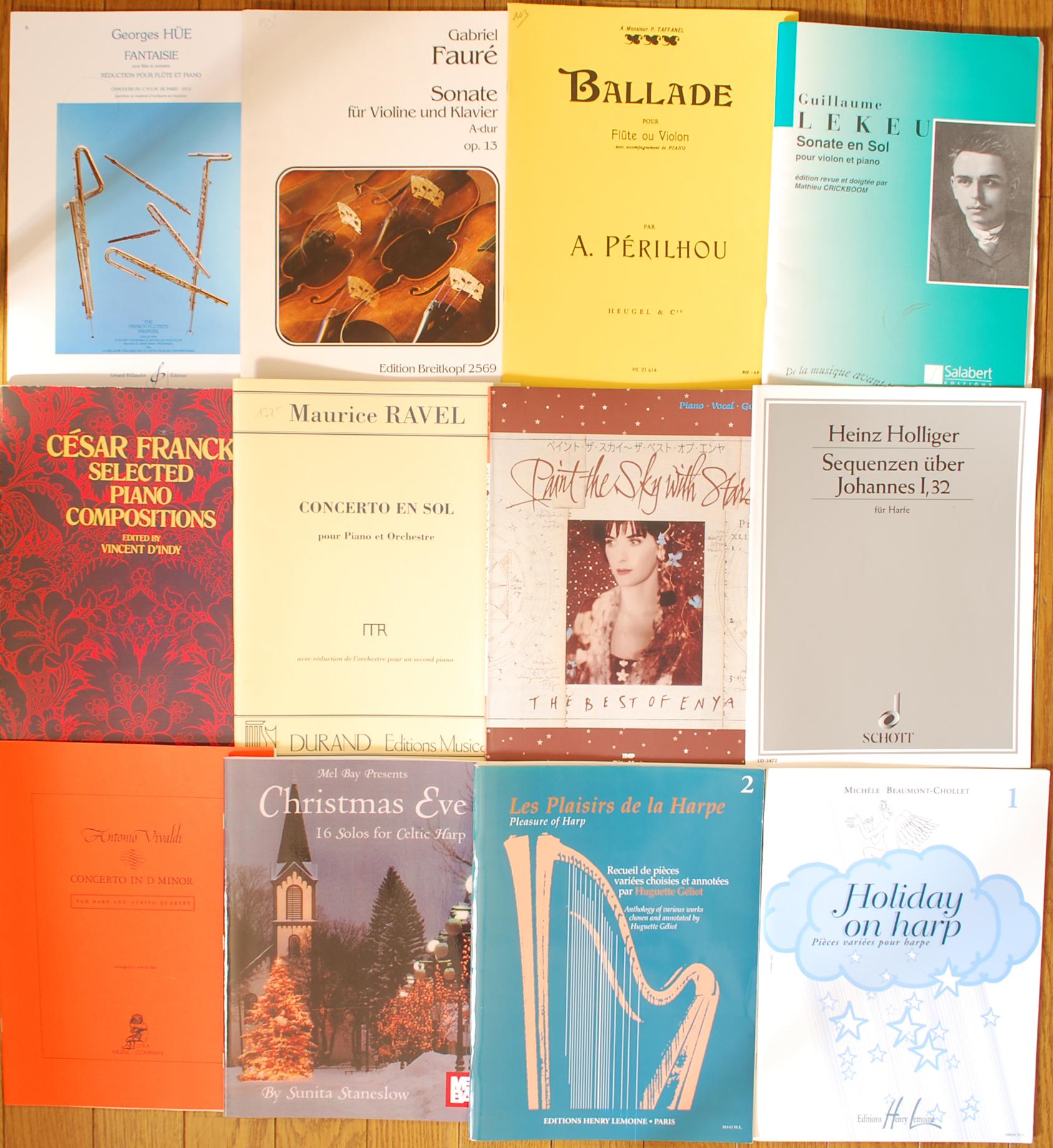 ヴィヴァルディ、ペリルー、フォーレ、ベートーヴェンなど楽譜スコア買取