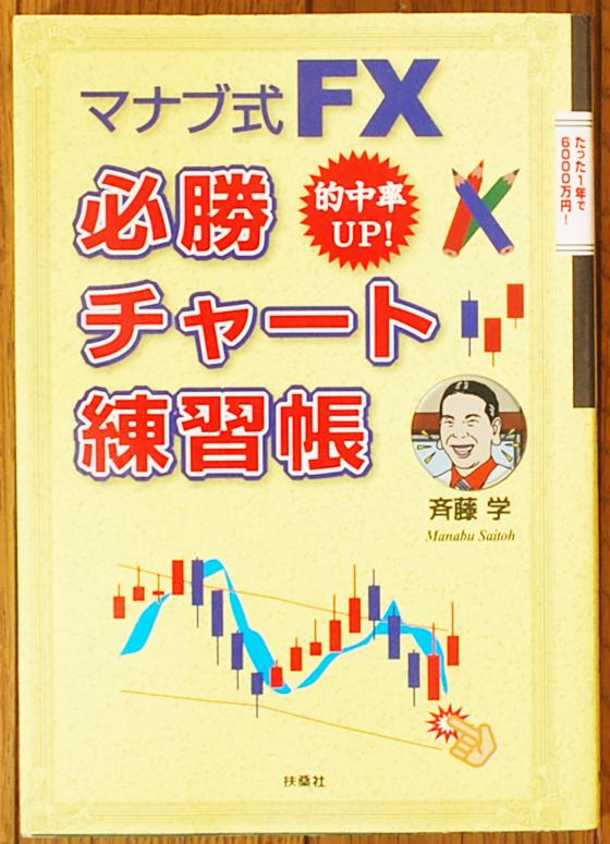 マナブ式FX必勝チャート練習帳を買取