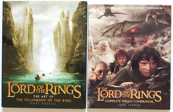 Lord of the Rings Complete Visual Companionなど洋書が週を買取